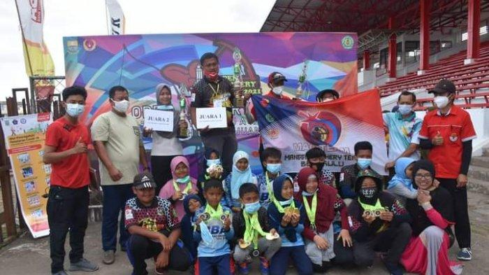 Perpani Tebingtinggi Juara Umum Kejuaraan Panahan Jambi Open 2021
