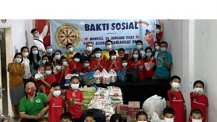 Persaudaraan Muda–mudi Vihara Borobudur (PMVB) Kembali Gelar Bakti Sosial
