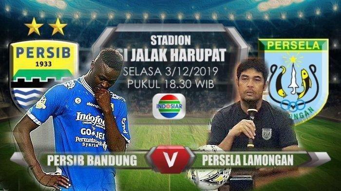 PERSIB Hari Ini - Persib Bandung vs Persela Lamongan, Ini Link Live Streaming, Tonton di HPmu