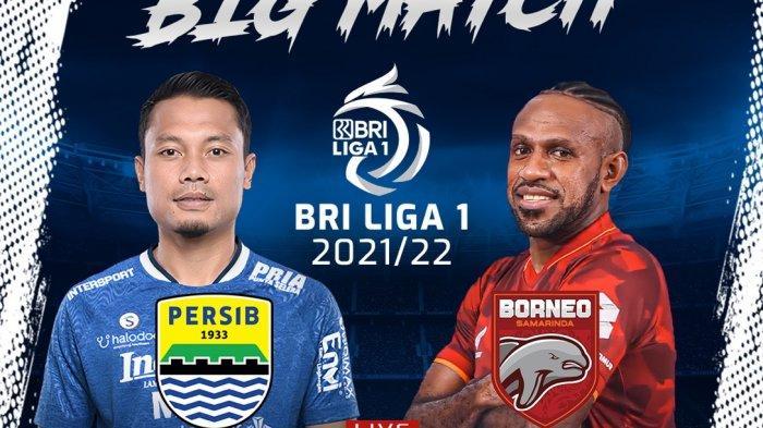 SEDANG BERLANGSUNG Persib Bandung Vs Borneo FC, Klik Di Sini Nonton Live Streaming dari HP