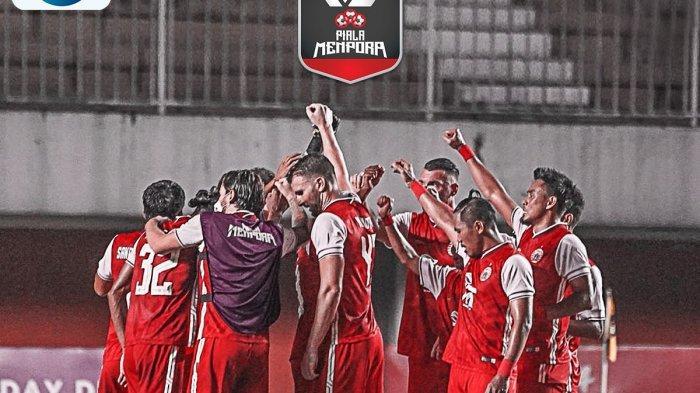 SELAMAT! Persija Jakarta Kampiun Piala Menpora 2021, Gol Riko dan Osvaldo Kubur Mimpi Persib