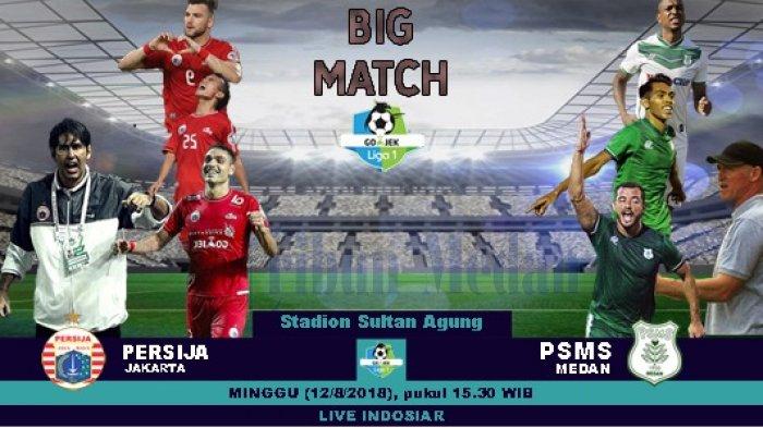PSMS Medan Punya Modal Bagus Hadapi Persija Jakarta, Live Streaming di Indosiar