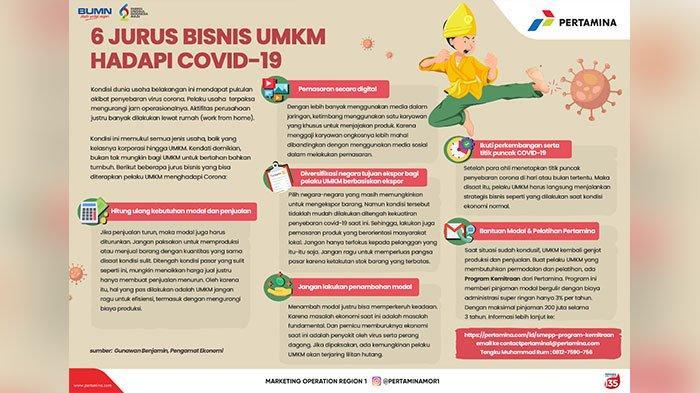 6 Jurus Bisnis UMKM Hadapi COVID-19