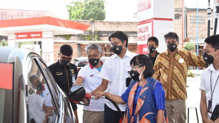 Kabar Baik, Masyarakat Kabupaten Toba Sudah Bisa Nikmati Pertamax Turbo