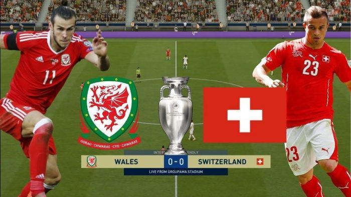 SEDANG BERLANGSUNG Live Streaming Swiss vs Wales Skor 0-0, Tonton Pertandingan Euro via Link Live