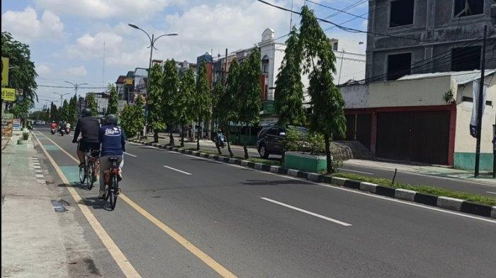 Ada Jalur Khusus Sepeda, Pesepeda Medan Berharap Jangan Jadi Tempat Parkir Kendaraan