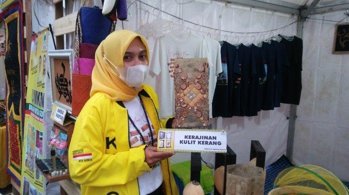 Ikuti Pameran Bazar UMKM Partai Golkar, KPPG Sergai Tampilkan Kerajinan Masyarakat