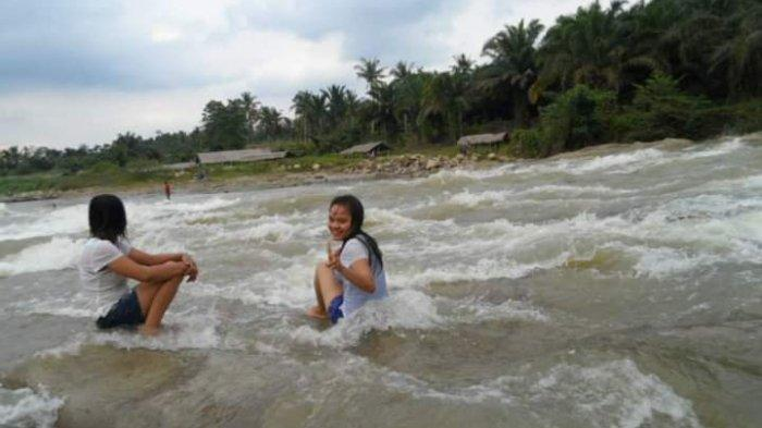 Pantai Salju Deliserdang, Lokasi Wisata Cocok untuk Keluarga, Tawarkan Pemandangan Perkampungan