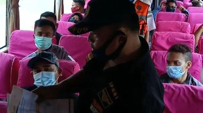 Kebijakan Gubernur Edy, Penumpang Bus yang Akan Masuk ke Sumut Wajib Ada Hasil Rapid Test Antigen