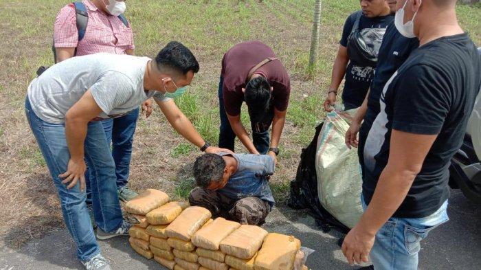30 Kg Ganja Asal Blangkejeren Gagal Beredar di Kota Medan dan Sekitarnya
