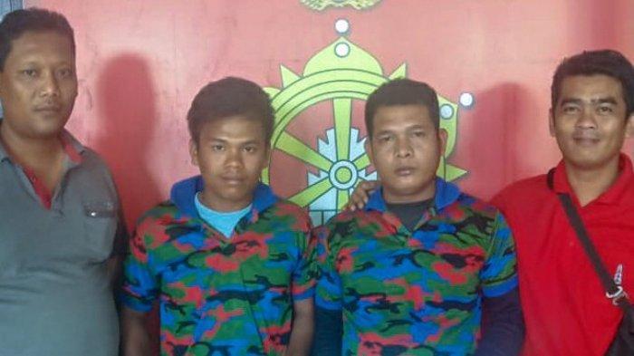 Pungli Ongkos Bongkar Muat terhadap Sopir Truk, Dua Pemuda Berkaos Loreng Diringkus Polisi