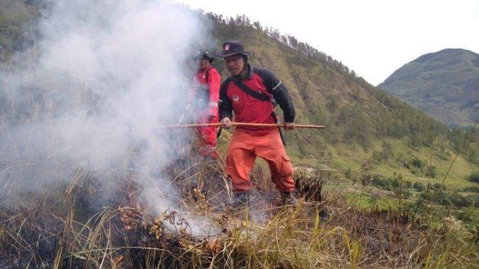 Kebakaran Hutan di Merek Karo Sudah Mencapai 12 Hektare