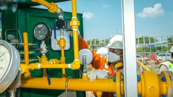 PGN Tingkatkan Penyaluran Gas ke Pembangkit Listrik Muara Tawar