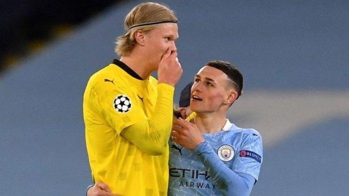 UPDATE Liga Champions - Man City Sukses Buat Haaland Mandul, Phil Foden Pecahkan Rekor Wayne Rooney