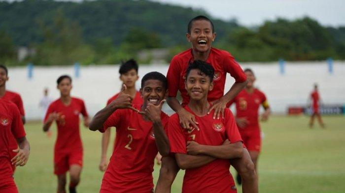 Jadwal Siaran Langsung Indonesia vs Thailand, Semifinal Piala AFF U-15, Malaysia vs Vietnam