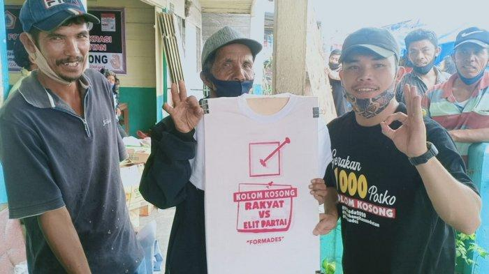 Road Show Deklarasi Kotak Kosong, FPDHH Ajak Warga Humbahas Pilih Kotak Kosong