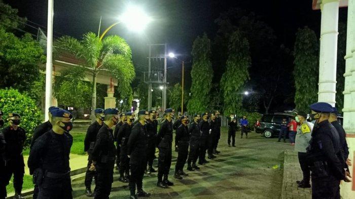 Polres Sibolga Terima BKO Brimob dalam Rangka Pengamanan Pilkada
