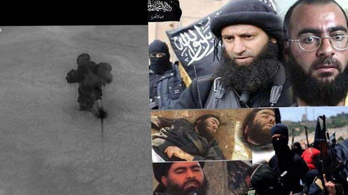 Tonton di Sini Video Detik-detik Markas Pemimpin ISIS Abu Bakar al-Baghdadi Diratakan dari Udara