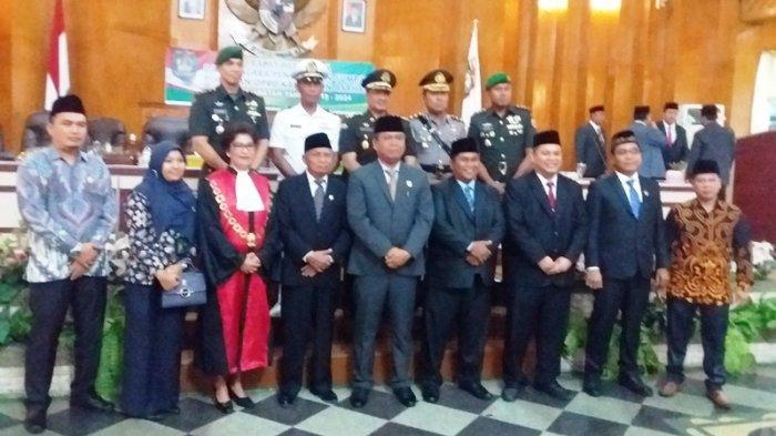 4 Pimpinan DPRD Asahan Dilantik, Baharuddin Harahap Dukung Percepatan Pembangunan