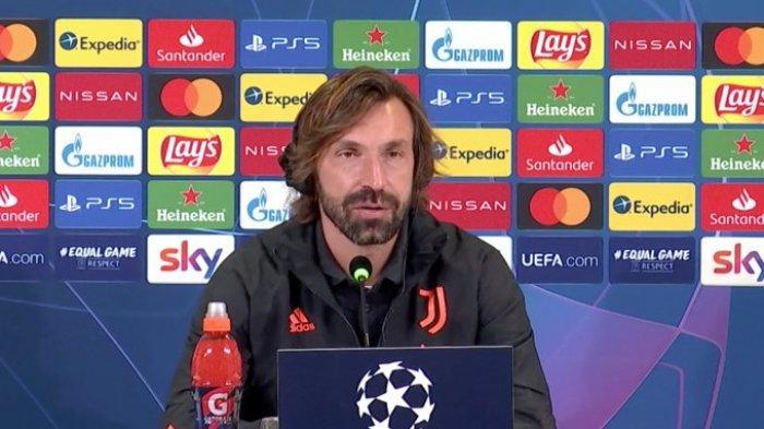 ANDREA Pirlo Belum Sempat Baca Koran, Digosipkan Bakal Didepak Juventus Pekan Ini