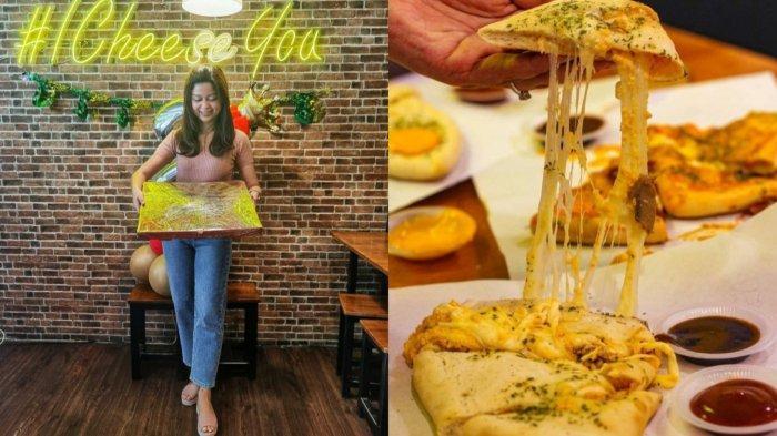 SENSASI Makan Pizza Terbesar di Mastercheese Pizza Medan