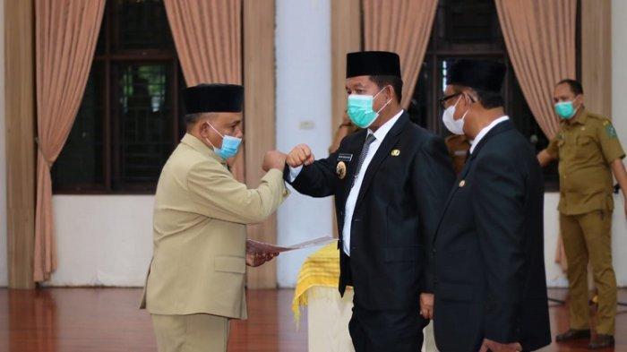 Sudiahman Saragih Jadi Penjabat Sekda Simalungun, Bupati: Pekerjaan Tidak Ringan