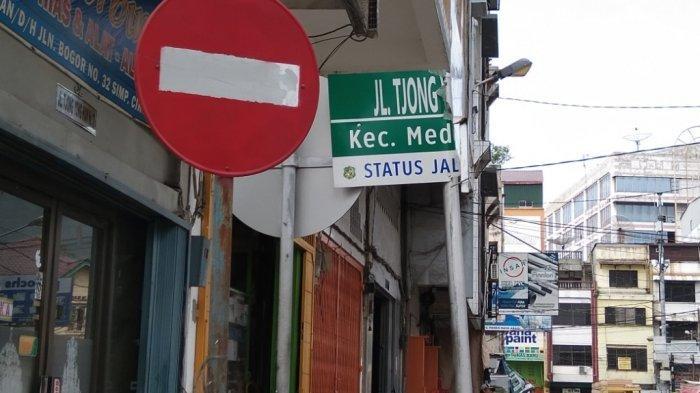 Plang Nama Jalan di Medan Dirusak Orang Tidak Bertanggungjawab, Ini Reaksi Kadishub