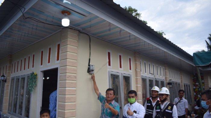 HUT Ke-75 RI, PLN UIW Sumut Resmikan Listrik di Tujuh Desa di Nias