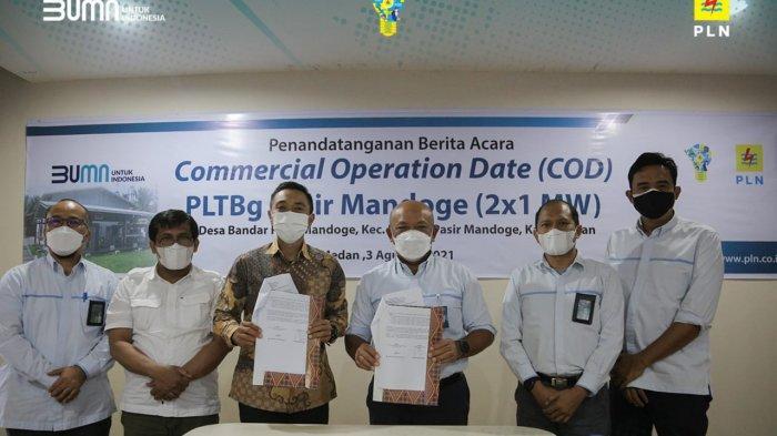 PLTBg Pasir Mandoge Manfaatkan Limbah Sawit, Investasi Rp 42 Miliar