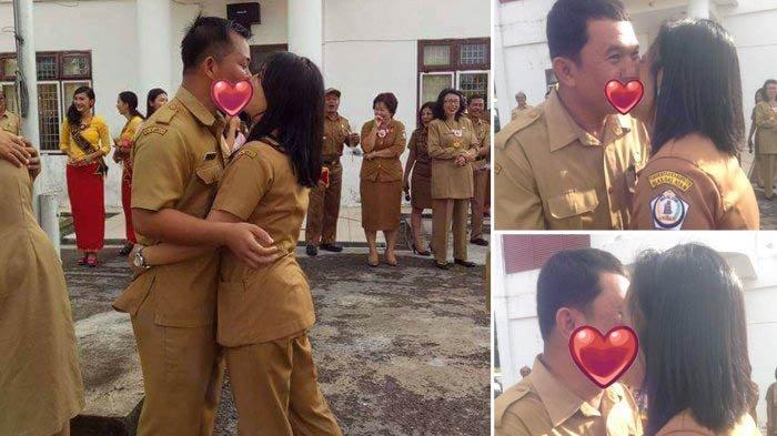 PNS Nias Selatan Lakukan Ciuman Massal Tuai Kecaman, Netizen di Medsos: Gak Senonoh