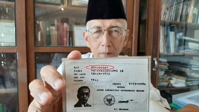 Inilah Sosok PNS Pertama di Indonesia, Pemilik NIP 010000001 Ternyata Bukan Orang Sembarangan