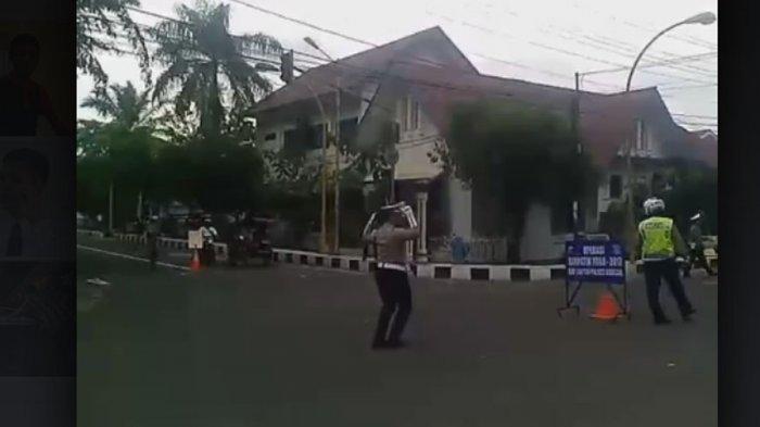 Heboh Aksi Gokil Polantas Sibolga Ipda Nanang Yuk Tonton Videonya