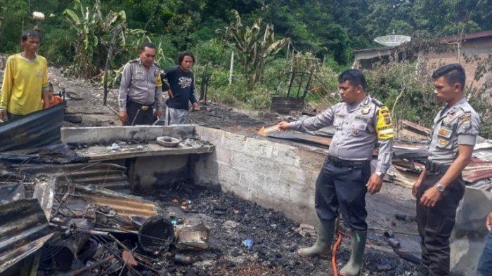12 Rumah di Tanah Pinem Dairi Terbakar, Diduga Akibat Korsleting Listrik