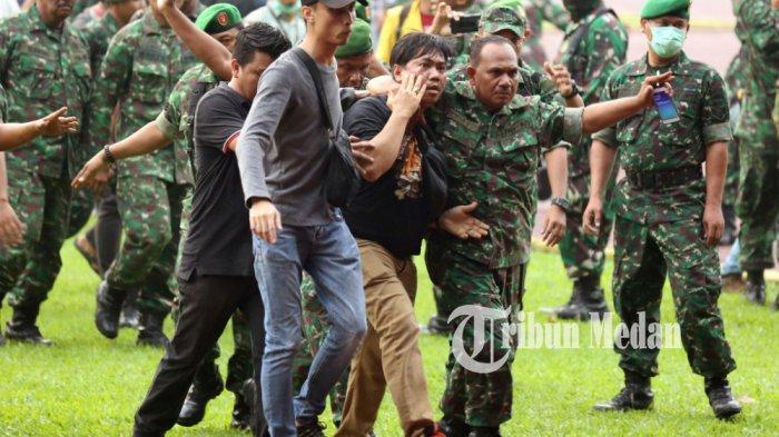 Polisi dan TNI Nyaris Bentrok Saat Amankan Aksi Demo Mahasiswa, Ini Komentar Polda Sumut
