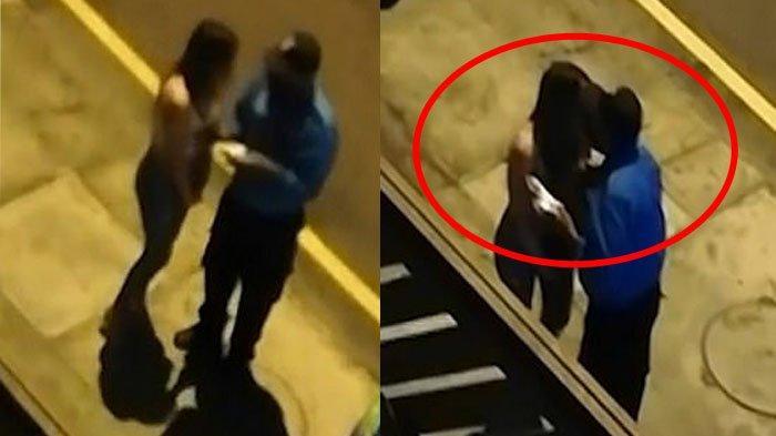 Polisi tertangkap mencium wanita pelanggar aturan jam malam, alih-alih mendendanya