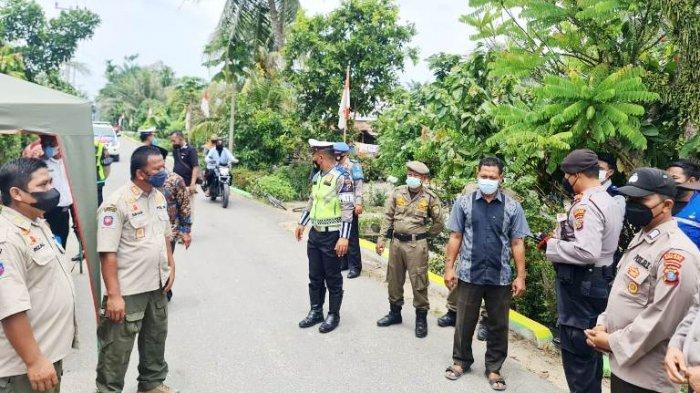 Awas, Polisi dan Satpol PP di Kabupaten Sergai Keliling Kampung Cari Warga yang Gelar Hajatan