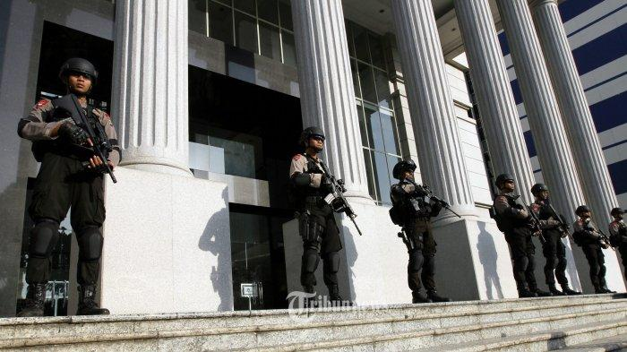 2.000 Polisi Kawal Sidang Lanjutan di MK