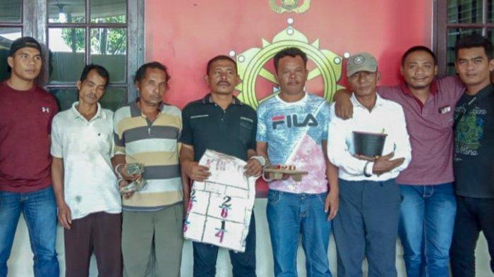 Polisi Gerebek Lapak Judi Dadu di Pardomuan Dairi, Ringkus Lima Orang Pemain