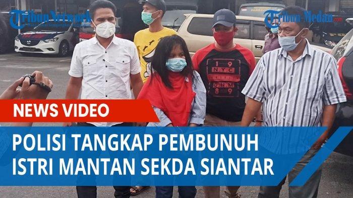 Polisi Tangkap Pembunuh Istri Mantan Sekda Siantar Sedang Makan Dekat Carefour