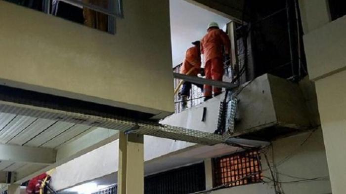 Gudang Arsip Narkoba Polres Jakbar Dilalap Api