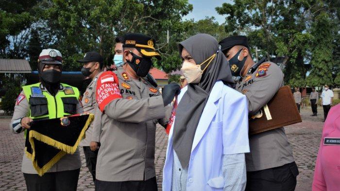 Polres Langkat Launching Mobil Gerai Vaksinasi Covid-19 Keliling, Pengin Menjangkau Setiap Desa