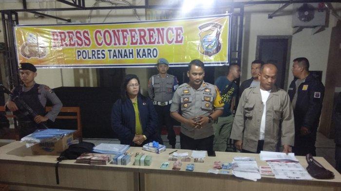 Lagi, Polisi Sumut Tangkap 4 Pelaku Money Politics Caleg Gerindra Senilai Rp 60 Juta