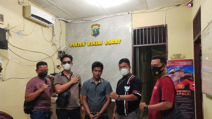 Terekam CCTV Curi Puluhan Slop Rokok, Badoi Diamankan Polsek Binjai Barat