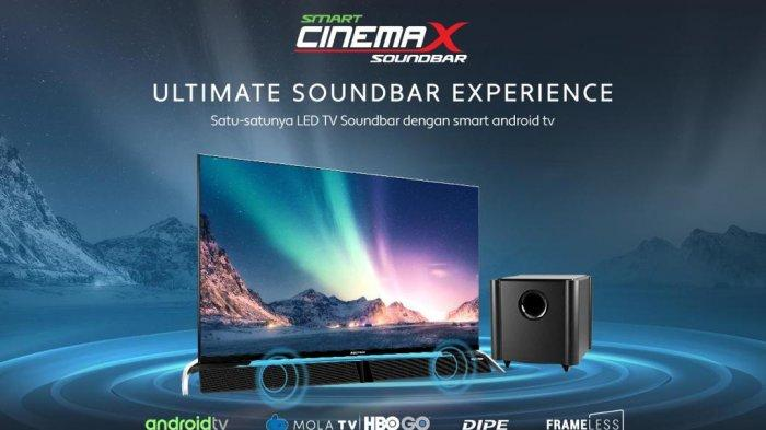 Smart Cinemax Soundbar, Satu-satunya LED TV Soundbar dengan Smart Operating System