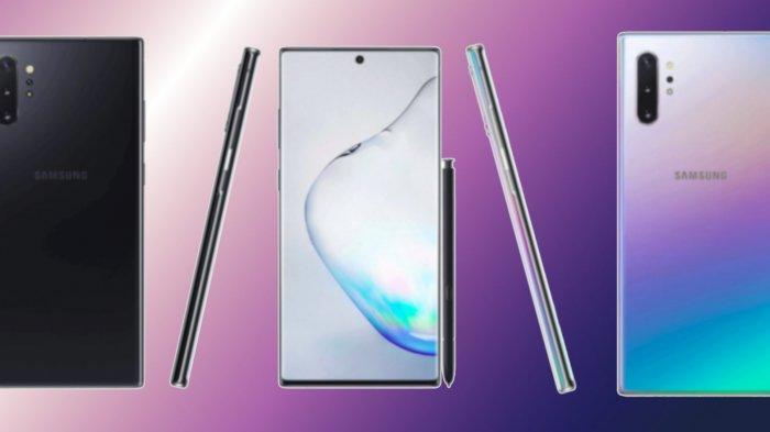 PONSEL SAMSUNG TERBARU: Beda Spesifikasi, Harga Galaxy Note 10 dan Note 10+, Memori microSD - 1TB