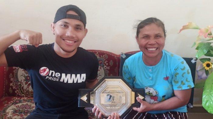 Pertahankan Gelar MMA One Pride Bulan April, Adi Rominto Latihan di Kampung Halaman