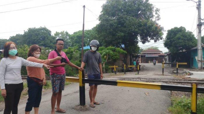 Penutupan Jalan Oleh PT KAI Bikin Gaduh, Ketua DPRD: Rakyat Sulit Cari Nafkah