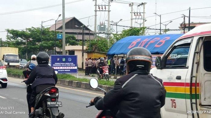 Pos Penyekatan Jalur Masuk Deliserdang ke Medan,Kasatlantas : Tidak Ada Sanksi dan Denda