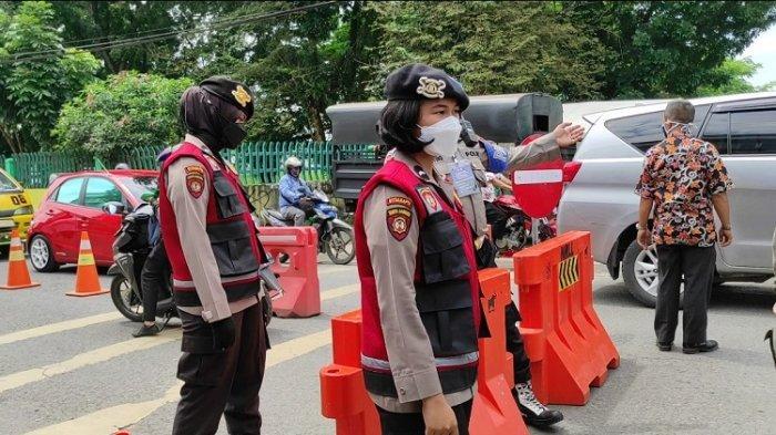 Antisipasi Pawai Malam Takbiran, Polisi Lakukan Penyekatan Di 110 Titik