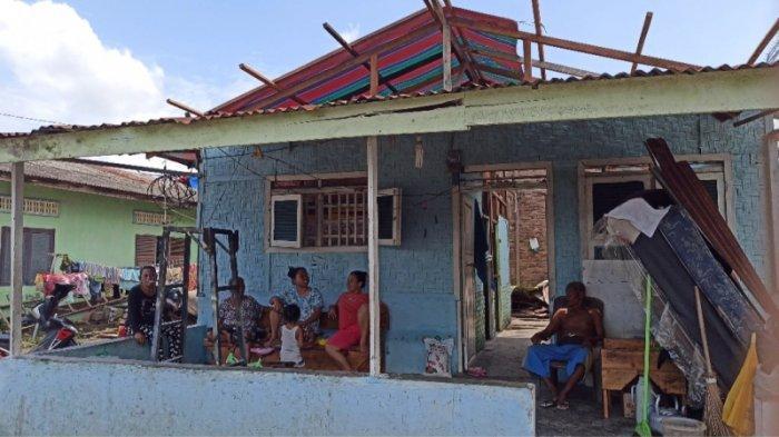 Buka Posko, Korban Puting Beliung di Medan Labuhan Harapkan Bantuan Masyarakat dan Pemerintah